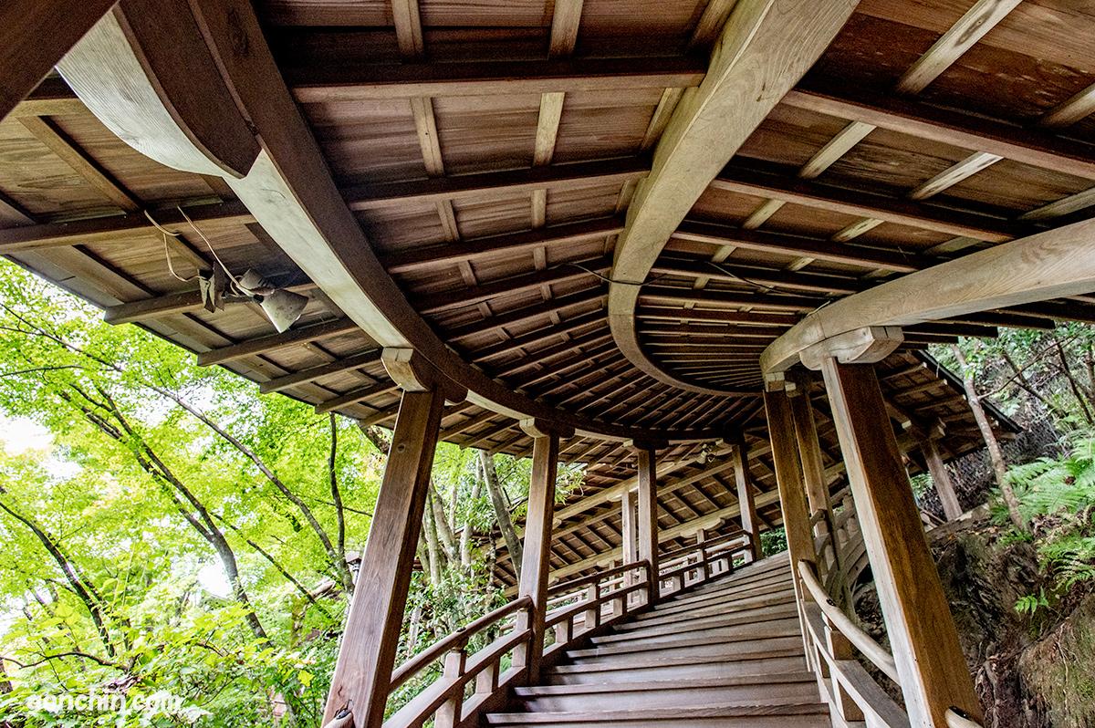 永観堂の螺旋階段