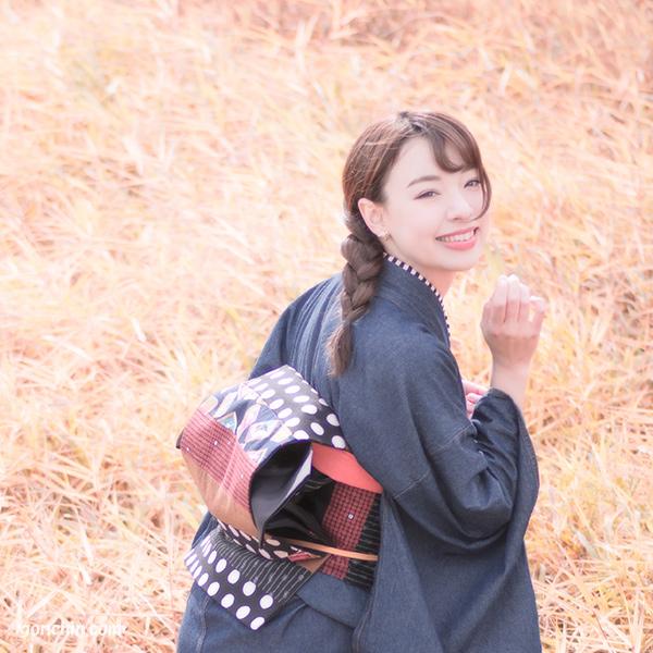 エリス梨亜奈さん-着物ポートレート