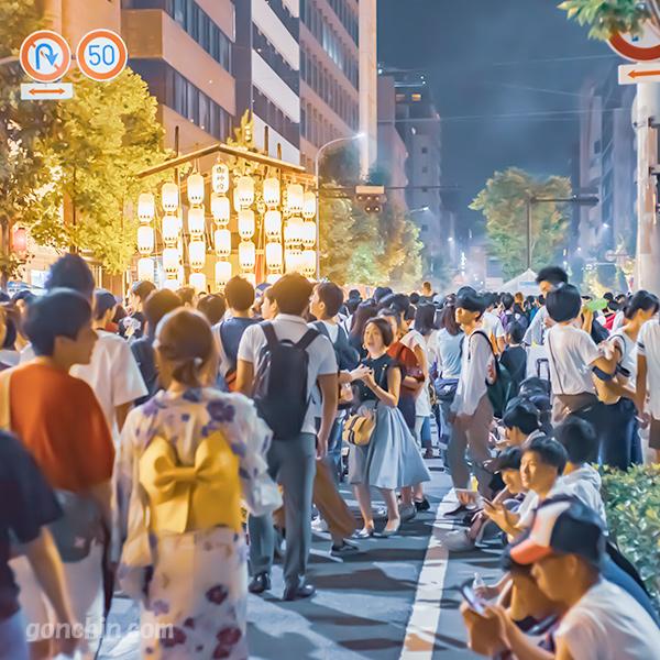 祇園祭の宵山