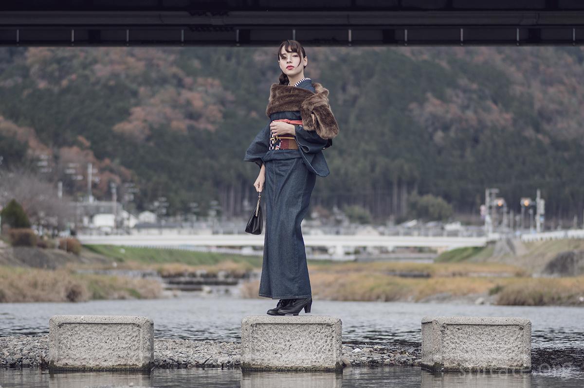 エリス 梨亜奈さん-着物ポートレート1