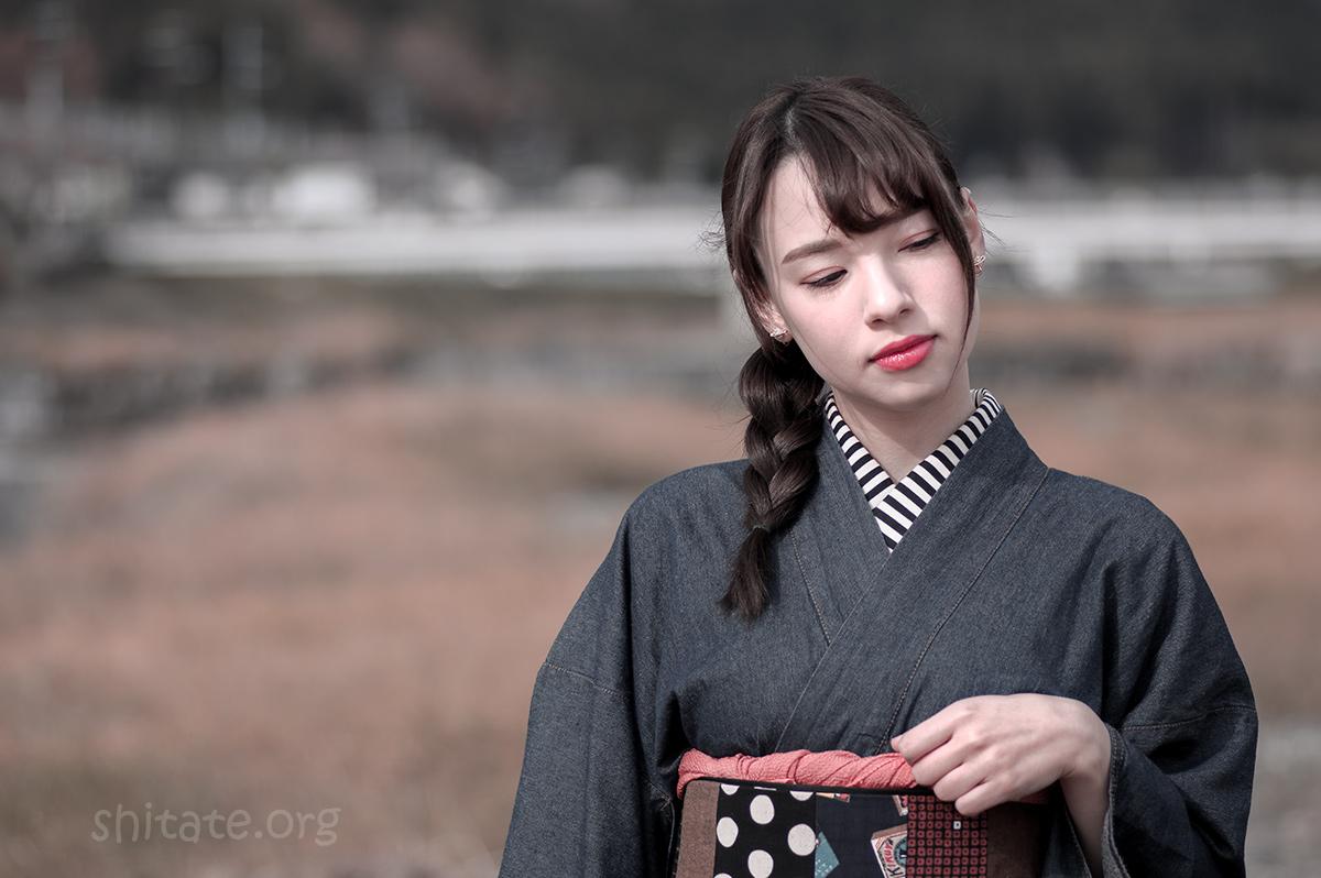エリス 梨亜奈さん-着物ポートレート2