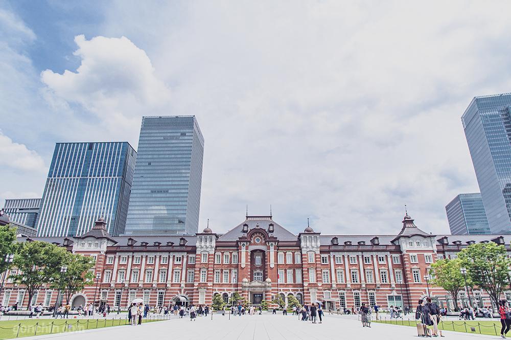 東京駅の全景
