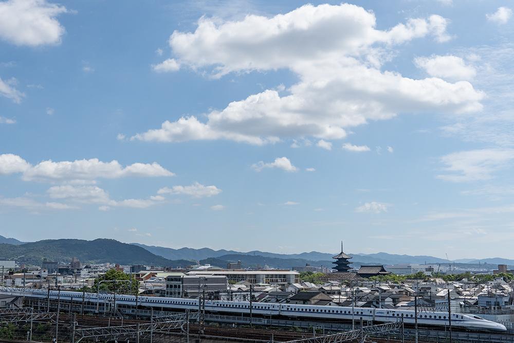 鉄道博物館からの風景