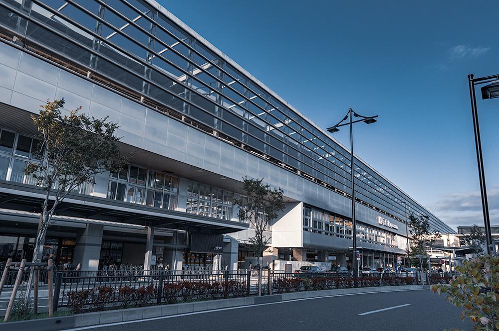 京都駅の八条口の外観