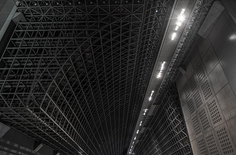 鉄の塊っぽい京都駅